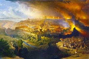 Destrucción del Templo de Jerusalén.