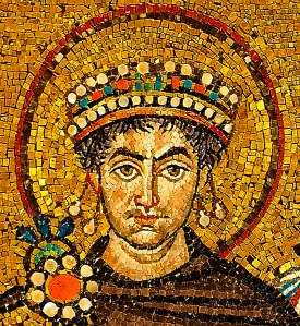 Emperador Justiniano de la Roma oriental