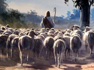 El verdadero y único pastor.