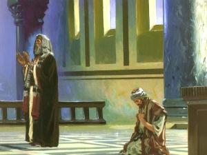 El fariseo y el publicano.