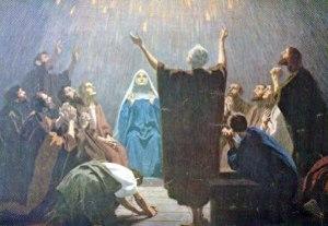 El 5 de Siván del año 31 d.C. - El Pentecostés.