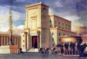 El segundo santuario terrenal - Templo construido por el rey Salomón.