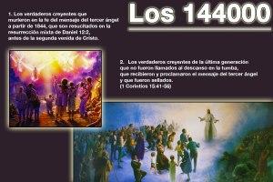 Los 144000 sellados con el sello del Dios vivo.