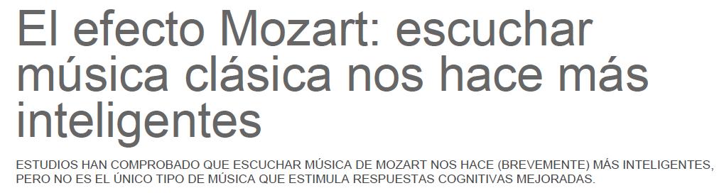 EfectoMozart