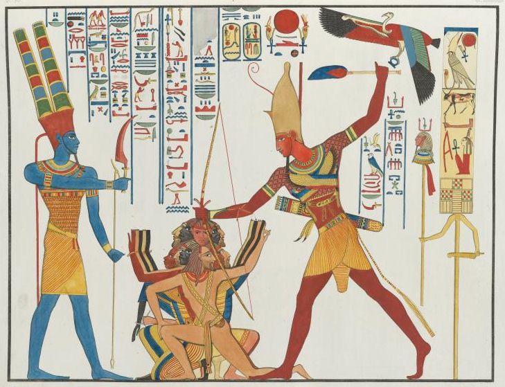 egipto sacrificios