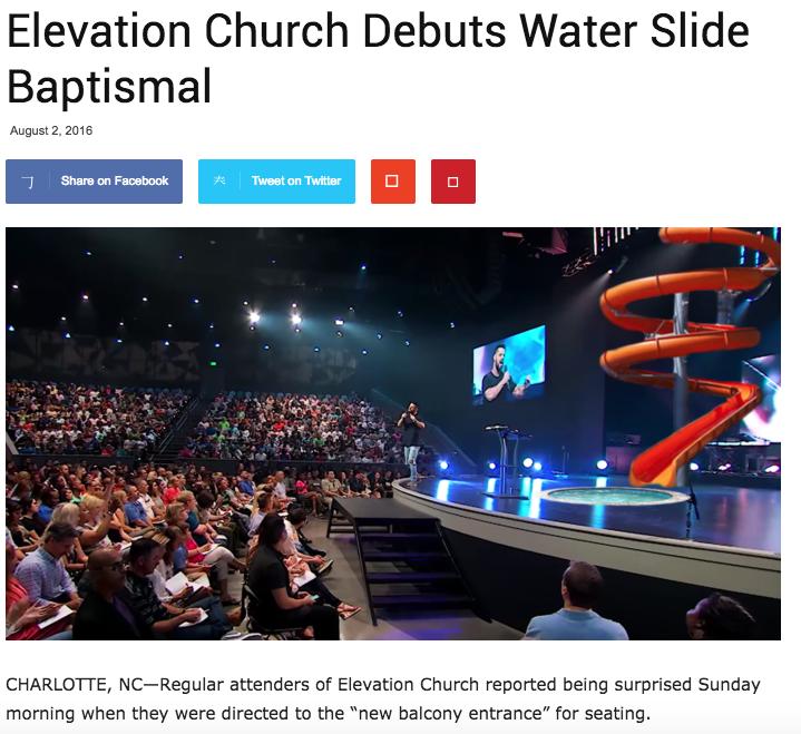 WaterSlideBaptism
